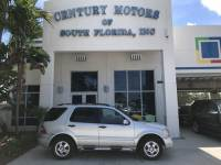 2002 Mercedes-Benz M-Class AWD Heated Leather Seats Sunroof BOSE Nav CD