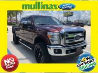 Used 2015 Ford F-250 Lariat Leveled W/ Ultimate Package Truck Crew Cab V-8 cyl in Kissimmee, FL