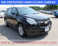 Certified Used 2014 Chevrolet Equinox LS SUV in Burton, OH