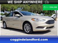 Certified 2017 Ford Fusion SE SE FWD in Jacksonville FL