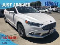 2017 Ford Fusion SE EcoBoost w/ Leather