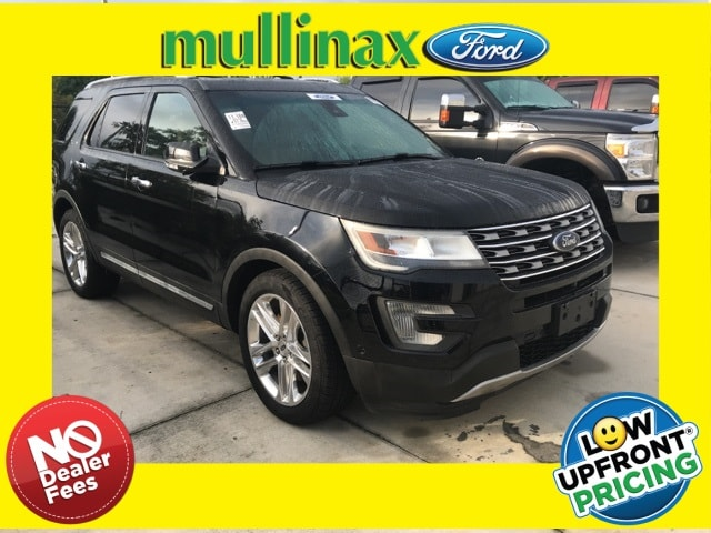 Photo Used 2016 Ford Explorer Limited Loaded 2ND ROW Bucket Seats, Adaptive Cru SUV V-6 cyl in Kissimmee, FL
