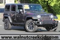 Used 2016 Jeep Wrangler Unlimited Rubicon Hard Rock Sport Utility 4D SUV in Walnut Creek CA