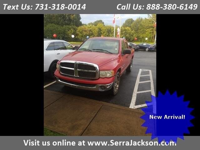 Photo Used 2003 Dodge Ram 1500 SLT in Jackson,TN