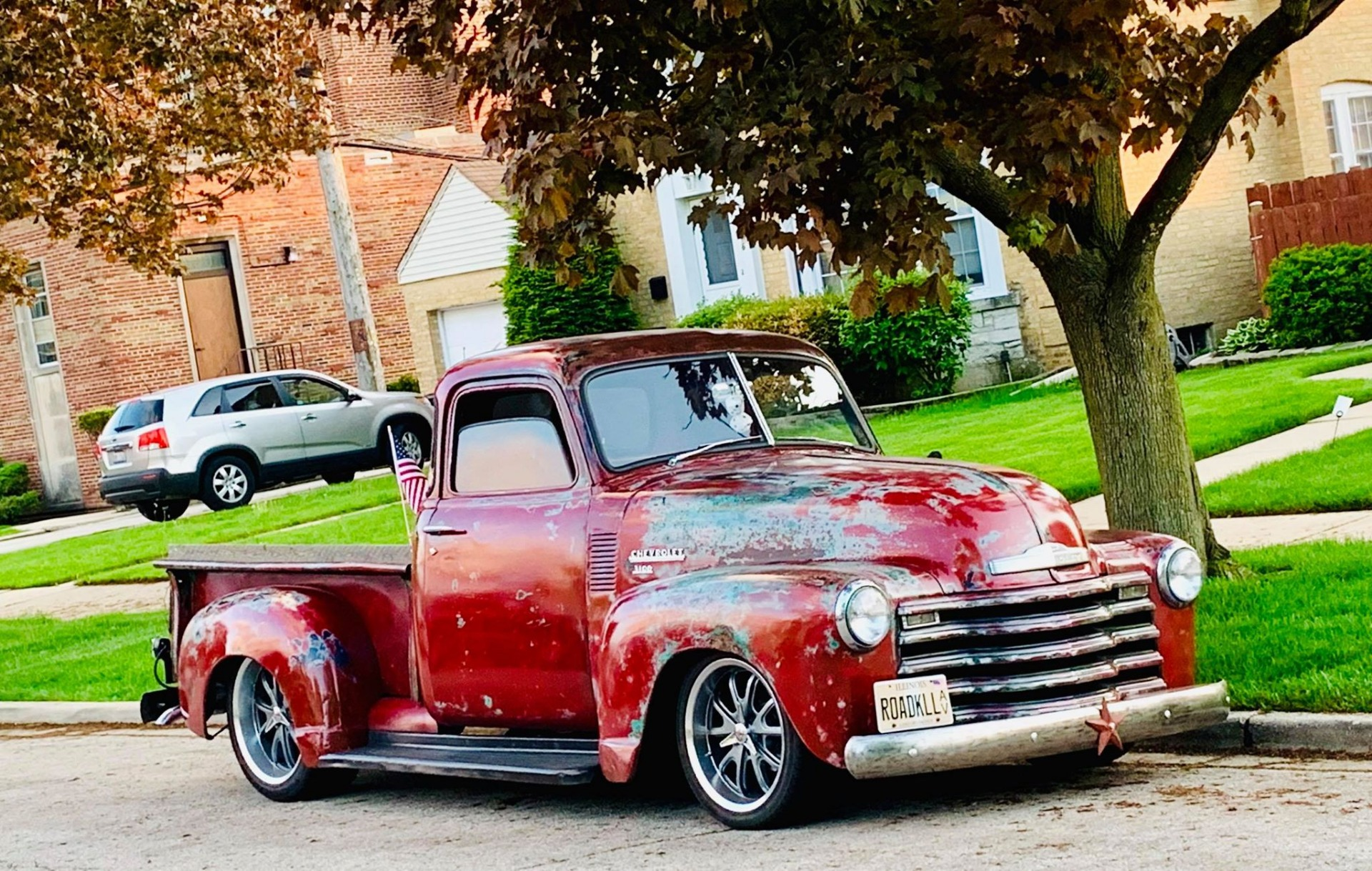 Photo 1950 Chevrolet Pickup 3100 5 Window Patina Fuel Injected Pro touring
