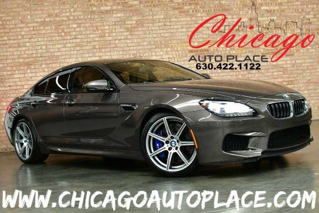 Photo 2015 BMW M6 Gran Coupe - 4.4L V8 TWINPOWER TURBO ENGINE REAR WHEEL DRIVE SMG TRANS ZANDVOORT BEIGE LEATHER HEADS-UP DISPLAY HEATEDCOOLED SEATS
