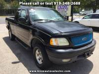 2002 Ford F-150 XL SuperCab Short Bed 4WD
