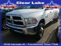 2018 Ram 3500 Tradesman DRW 4x4 Truck Crew Cab near Houston