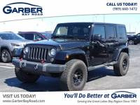 Pre-Owned 2014 Jeep Wrangler Unlimited Sahara 4WD SUV