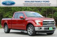 Certified Used 2015 Ford F-150 Lariat Truck for sale near Atlanta