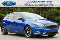 Certified Used 2018 Ford Focus SEL Hatchback for sale near Atlanta