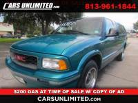1994 GMC Sonoma Ext. Cab 2WD