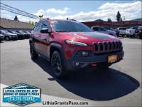 Certified Pre-Owned 2016 Jeep Cherokee 4WD 4dr Trailhawk Sport Utility in Grants Pass