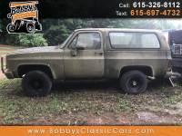 1984 Chevrolet D10 Military Blazer 4WD