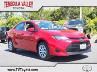 2018 Toyota Corolla LE Sedan Front-wheel Drive in Temecula