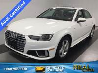 Used 2019 Audi A4 For Sale at Burdick Nissan | VIN: WAUDNAF4XKA014551