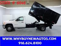 2012 Chevrolet Silverado 3500HD ~ 12ft. Dump Bed ~ Only 21K Miles!