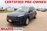 Certified Used 2018 Jeep Cherokee Latitude Plus FWD SUV