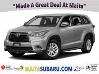 Used 2016 Toyota Highlander LE Plus Available in Sacramento CA