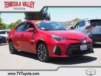 2019 Toyota Corolla SE Sedan Front-wheel Drive