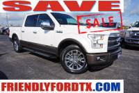 Used 2015 Ford F-150 Lariat Truck EcoBoost V6 GTDi DOHC 24V Twin Turbocharged for Sale in Crosby near Houston