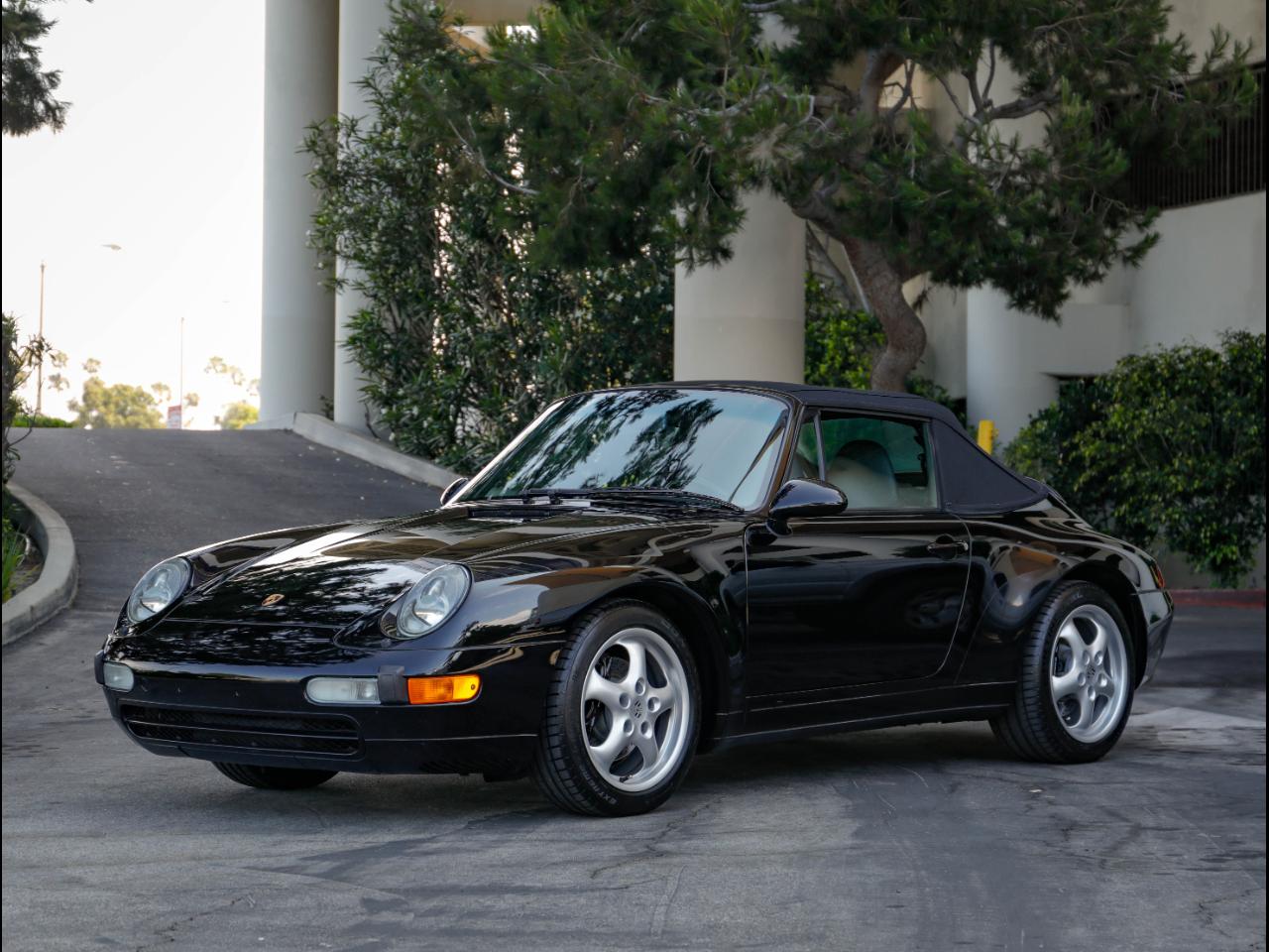 Photo 1997 Porsche 993 C2 Cabriolet