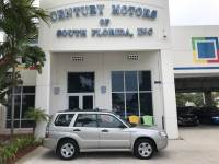 2007 Subaru Forester X CarFax 1 Owner Cloth Seats A/C CD Roof rack
