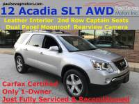 Used 2012 GMC Acadia SLT For Sale at Paul Sevag Motors, Inc. | VIN: 1GKKVRED3CJ422728