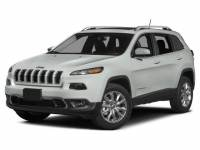 2016 Jeep Cherokee Limited 4x4 SUV 9-Speed Automatic 4x4