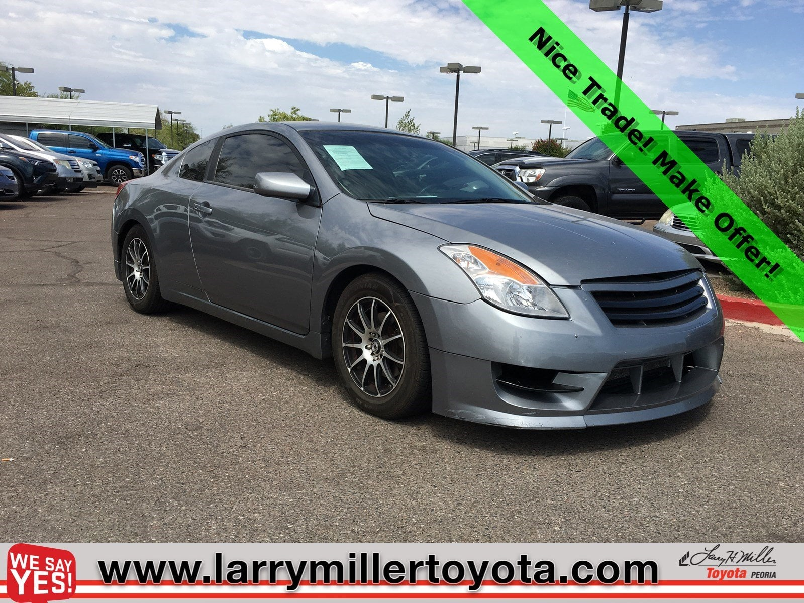 Photo Used 2008 Nissan Altima For Sale  Peoria AZ  Call 602-910-4763 on Stock 90821A