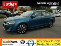 2015 Volkswagen Jetta Hybrid SEL Premium Sedan