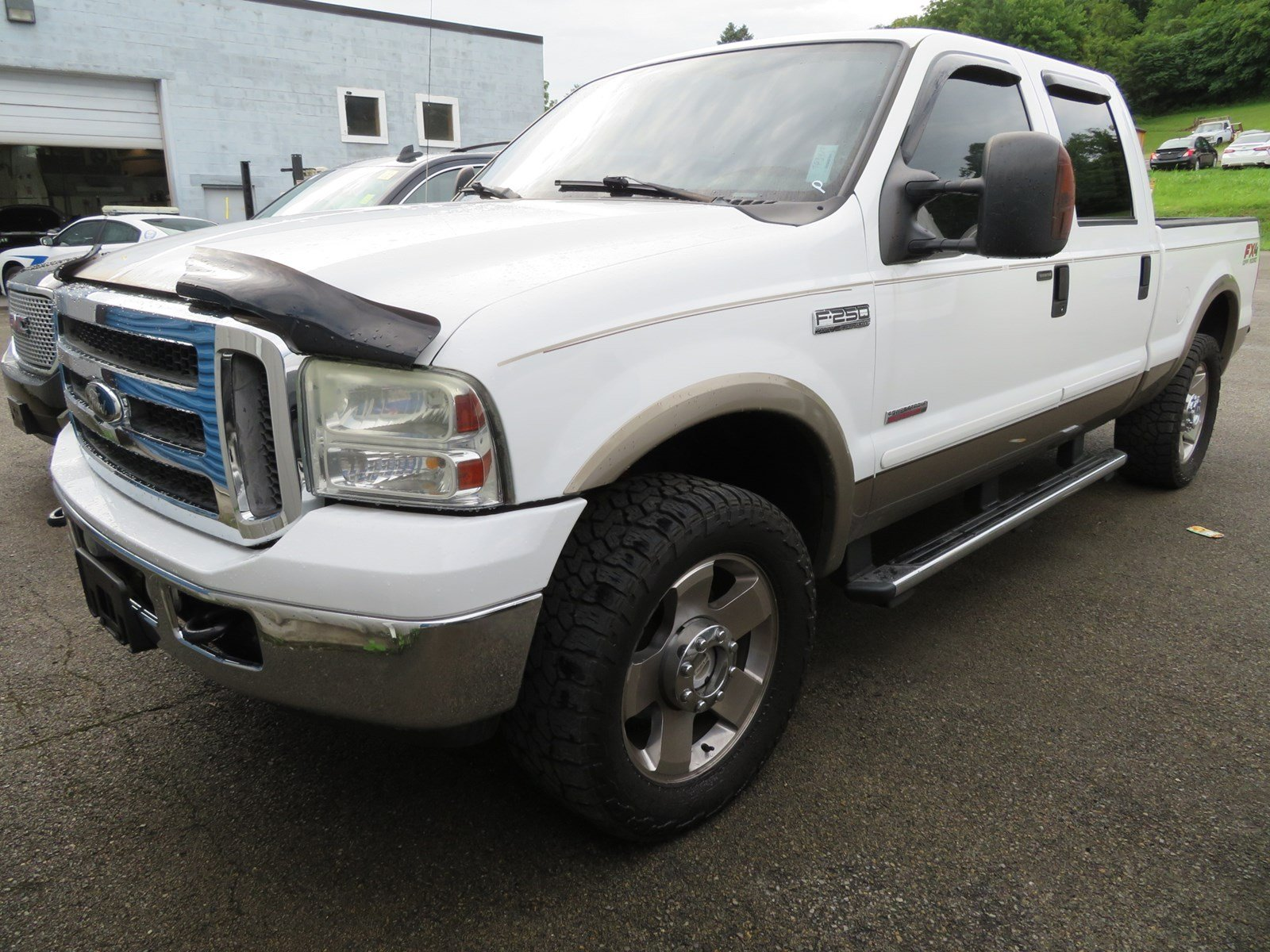 Photo Used 2007 Ford F-250 For Sale at Duncan Suzuki  VIN 1FTSW21PX7EB00327