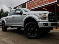 2016 Ford F-150 LARIAT CREW CAB SHORT BED 4WD CUSTOM LIFTED