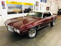 1969 Pontiac Firebird -CONVERTIBLE FUN 4 WHEEL DISC 1969 BLOCK-RELIABLE-SEE VIDEO