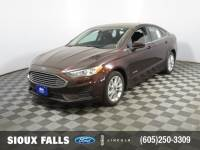Pre-Owned 2019 Ford Fusion Hybrid SE Sedan for Sale in Sioux Falls near Brookings