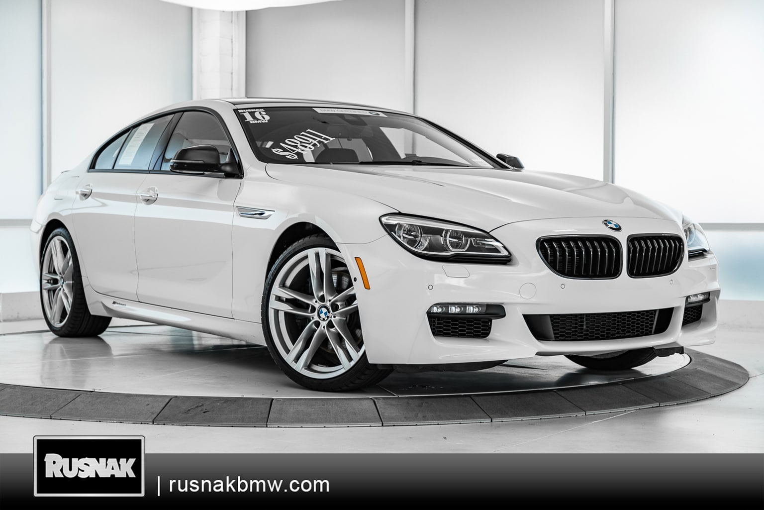 Photo Certified Pre-Owned 2016 BMW 6 Series 650i Gran Coupe Sedan Near Los Angeles, California
