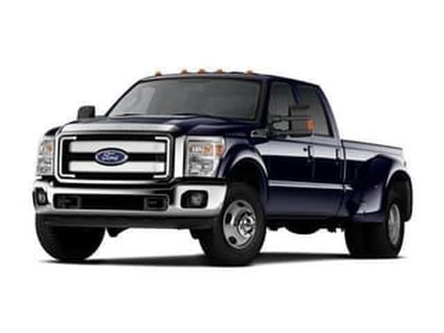 Photo 2014 Ford Super Duty F-45 King Ranch Pickup Truck 4-Valve Power Stroke Diesel V8 B20 Engine