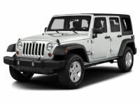 2016 Jeep Wrangler JK Unlimited Sport 4WDConvertible