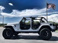 Used 2018 Jeep All-New Wrangler Unlimited CUSTOM LIFTED SAHARA LEATHER HARDTOP NAV