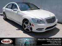 Pre-Owned 2010 Mercedes-Benz S-Class S 550 Sedan