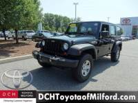 Used 2012 Jeep Wrangler Unlimited Sport SUV