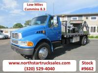 Used 2002 Sterling M8500 FlatBed Truck