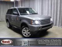 Pre-Owned 2008 Land Rover Range Rover Sport 4WD 4dr HSE