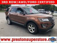 Certified Used 2017 Ford Explorer XLT SUV in Burton, OH