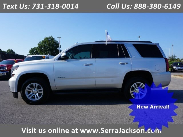 Photo Certified Pre-Owned 2018 Chevrolet Tahoe LT in Jackson, TN
