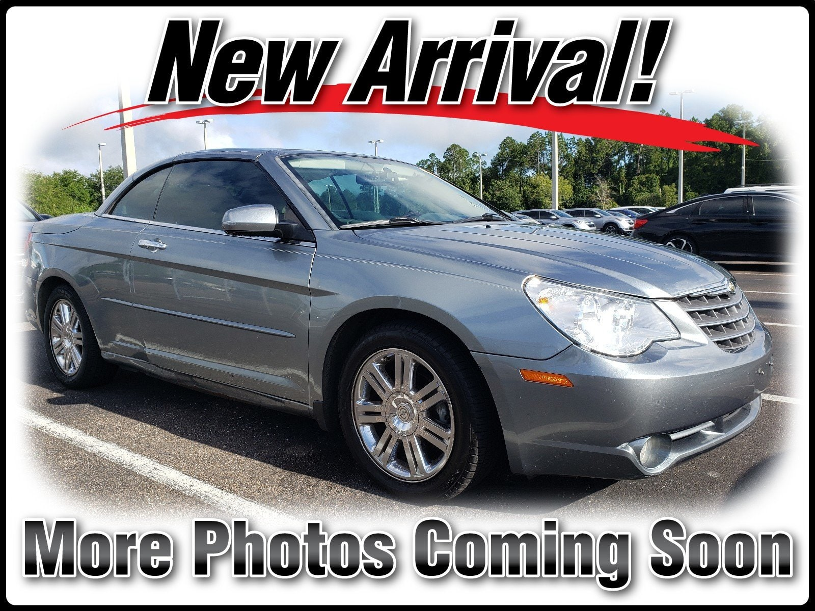 Photo Pre-Owned 2008 Chrysler Sebring Limited Convertible in Jacksonville FL