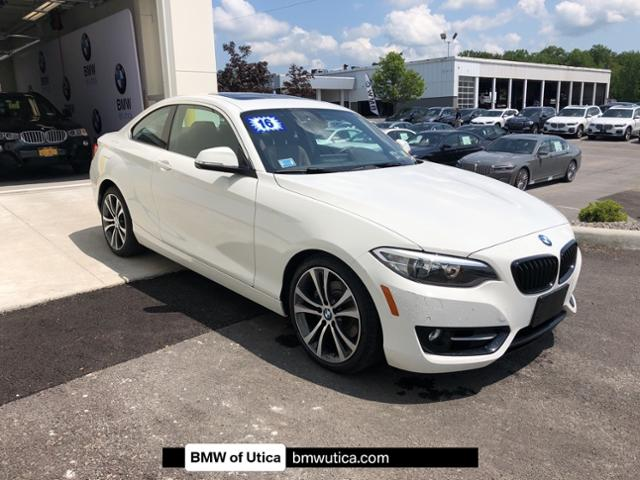 Photo Certified Pre-Owned 2016 BMW 2 Series 2dr Cpe 228i xDrive AWD Car in Utica,NY