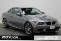 Pre-Owned 2010 BMW M3 2dr Conv Convertible in Portland