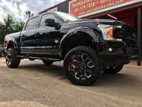 2018 Ford F-150 BLACK WIDOW CREW CAB SHORT BED 4WD CUSTOM LIFTED
