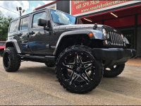 2014 Jeep Wrangler UNLIMITED RUBICON 4WD CUSTOM LIFTED